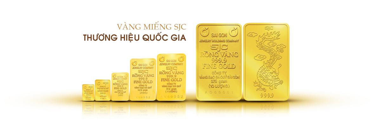 Các loại vàng miếng SJC ở Việt Nam