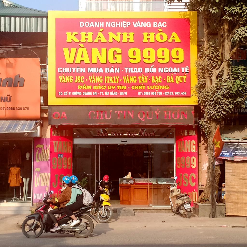 Mở tiệm vàng là cách kiếm tiền từ vàng trong mọi hoàn cảnh, thời kỳ