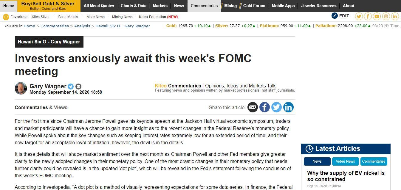 Mọi ánh mắt nhà đầu tư toàn cầu đang hướng về cuộc họp của FED
