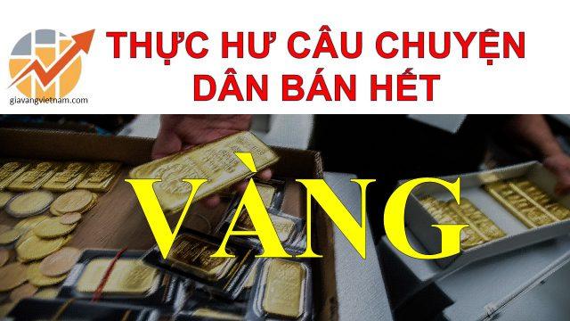 Thực Hư Chuyện Người Dân Tp Hồ Chí Minh Đã Bán Hàng Trăm Ngàn Lượng Vàng