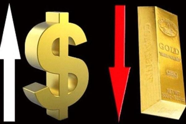 Vàng giảm do đồng USD mạnh lên nhận định sai lầm